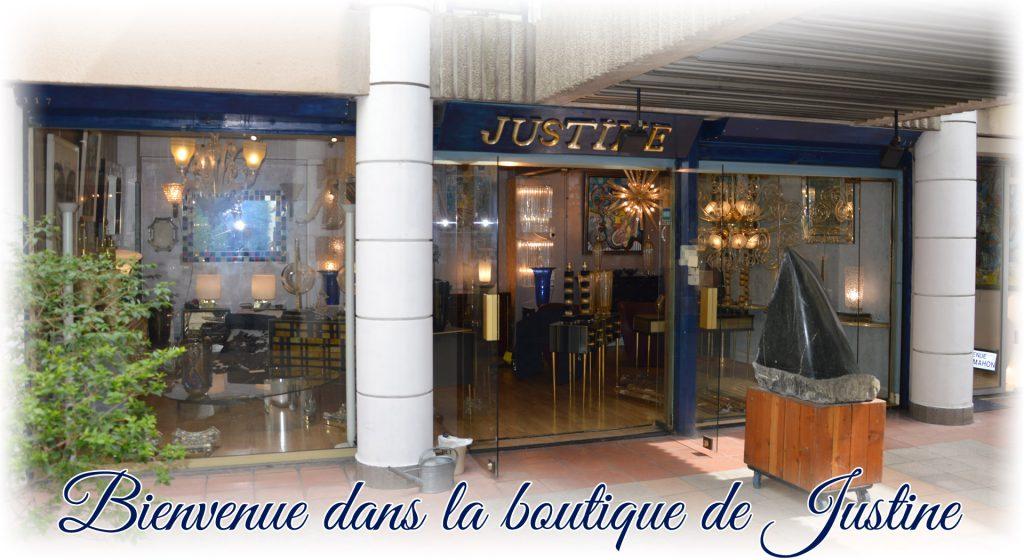 Bienvenue dans la boutique de Justine