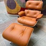 Ref : MC809 - Charles Eames - Lounge chair and ottoman