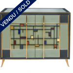 Ref : M251 - Buffet in tinted glass