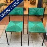 Ref : MC768 - Set of 6 chairs - Giandomenico Belotti