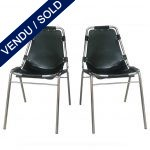 Ref : MC772 - Pair of chairs from Charlotte Perriand