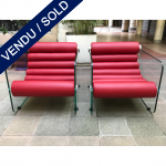 Ref : MC774 - Pair of arm-chairs Fabio Lenci