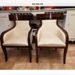 Ref : MC779 - Paire de fauteuils de la maison Colbert. Italie circa 1970 .