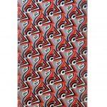 Ref : ADT026 - Sérigraphie sur toile - signée Sonia Delaunay