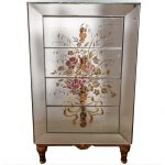 Ref : M274 - 50's mirror commode