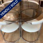 Ref : MT980 - Arredo Paderno - Table et 4 chaises