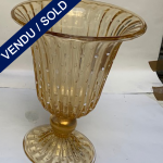Ref : V334 - Vase en verre de Murano signé A. Donna - VENDU