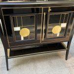 Ref : M276 - Black bar cabinet