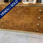 Ref : M277 - Chest with 4 drawers in amboina - Willy Rizzo