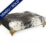 Ref : MT981 - E.Garouste et Mattia Bonetti - Wide bench / small table in shaved foal