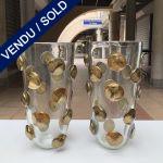 """Ref : V349 - Verre de Murano - signé """"Toso Murano"""""""