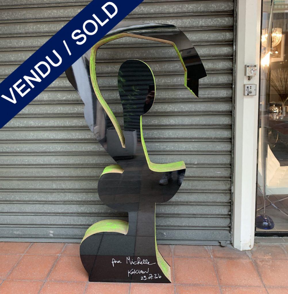 Ref : ADS968 - Sculpture par Kokian