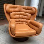 Ref : MC801 - Elda Cognac - Joe Colombo