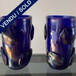 Ref : V353 - Paire en verre de Murano