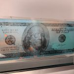 Ref : ADS972 - Sculpture Billion Dollar bill - MAXIMILIAN WIEDEMANN