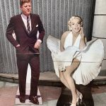 Ref : AD79 - Shapes of Kennedy and Marilyn Monroe