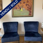 Ref : MC786 - Paire of chairs