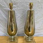 Ref : LL428 - Paire de lampes Alberto Dona Murano