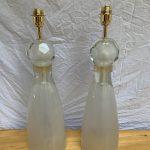 Ref : LL429 - Paire de lampes Alberto Dona Murano