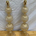Ref : LL432 - Paire de lampes Alberto Dona Murano