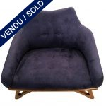 Ref : MC770 - 70s arm-chair - new upholstery