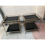 Ref : MT977 - Pair of side tables
