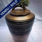 Ref : V348 - Covered jar - Michel Fedi