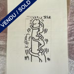 Ref : ADT031 - ISA - Keith Haring