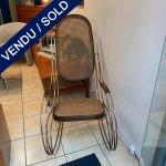 Ref : MC767 - Rocking chair des années 50 - Bon état