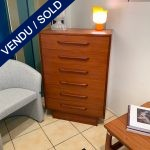 Ref : M258 - Commode 6 drawers years 50/60 - North american work.