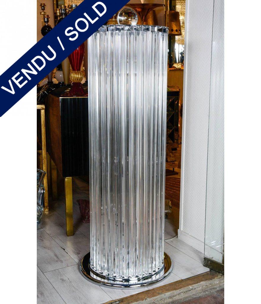 Ref : LL413 - Paire de lampadaires - Modèle de Venini