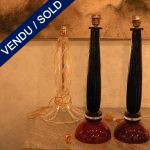 Set of blue and red lamps - SOLD
