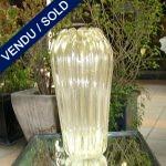 Un vase en murano doré - VENDU