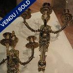 Ref : LA1 - Appliques styles Louis XVI - VENDU