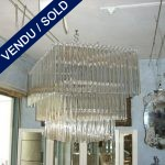Large chandelier in glass of Murano - SOLD