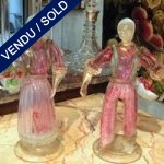 Figures in glass of Murano - SOLD