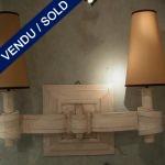 Suite de 4 appliques - VENDU