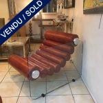 Ref: MC 761 - Paire de fauteuils Fabio Lenci MC 761 - VENDU