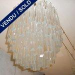 Verre de Murano 110 pièces de 28 cm chaque - VENDU