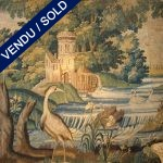 "Piece of tapestry of ""Aubusson""(France), end of XVIIth century - SOLD"