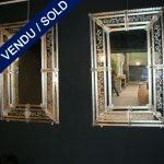 Paire de miroirs vénitiens - VENDU
