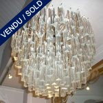 Verre de Murano 171 piècces de 15cm chaque - VENDU