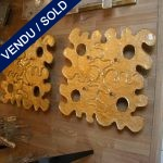 """Ref : LA105 - Murano """"TOSO"""" - VENDU"""