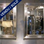 Paire de miroirs en verre - VENDU