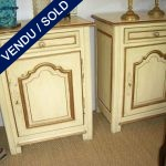 Pair of closet in peinted wood 19 CENTURY - SOLD