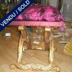 Paire de tabourets en bois - VENDU