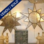 A set of mirrors formatted as stars - SOLD