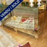 Buffet two doors whole in mirror - SOLD