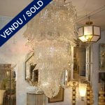 Lustre en verre de Murano Epoque 1960 Séguso - VENDU
