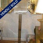 Lampadaire en verre de murano - VENDU